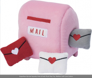 Ziggy paws mailbox - dog toy